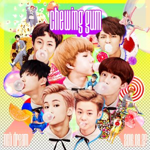 cover nct dream chewing gum