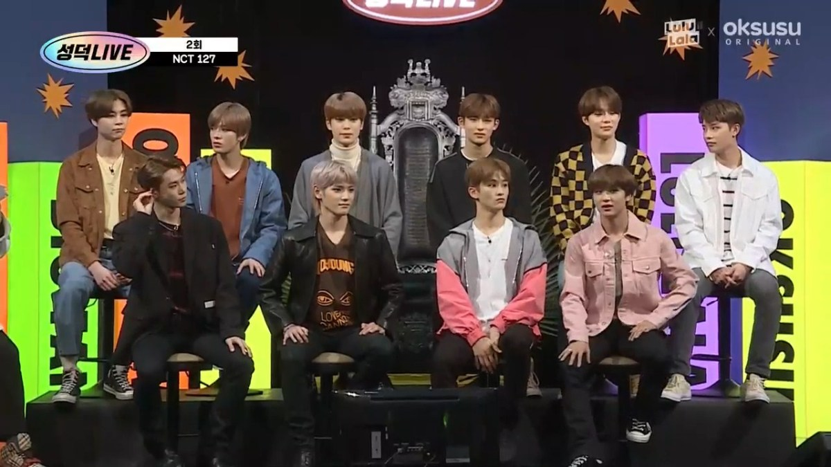 NCT on Sungduckwho (Succesful Fan's Live)