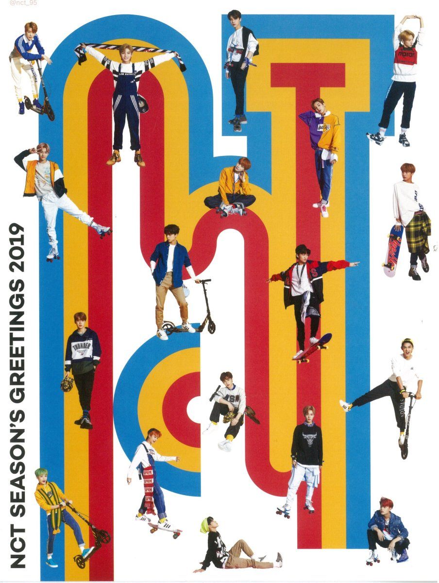 [SCAN] NCT 2019 SEASON'S GREETING