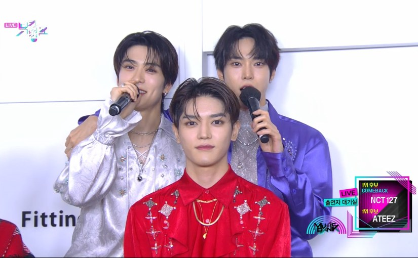 NCT on MusicBank